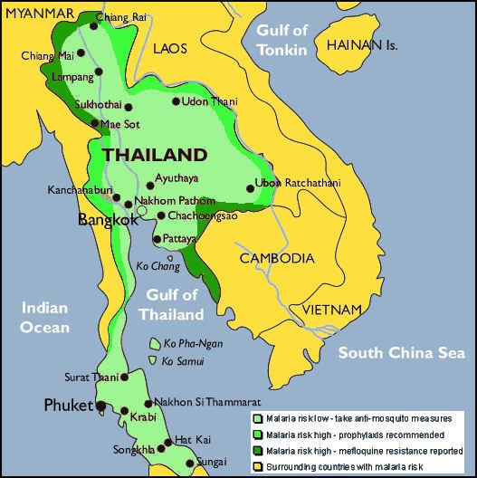 vacinationer til thailand